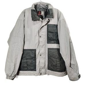 Burton Gray Snowboarding Jacket Ski Full Zip Sz S